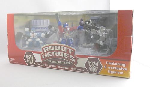 TF Robot Heroes Decepticon Sneak Attack (Wal-Mart Online Exclusive)