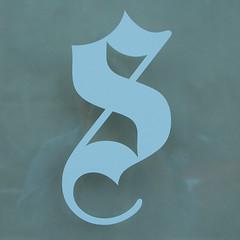 S (Monceau) Tags: s paleblue