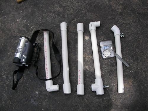 Stabilization equipment for handheld video