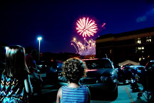 first fireworks