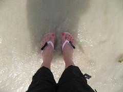 My feet in the Arabian Gulf (Studio Sarah Lou) Tags: beach dubai desert uae middleeast unitedarabemirates theoneandonly theoneandonlyroyalmirage