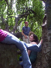 dan and lexi in the tree (skinvision) Tags: kenyoncollege creativewriting kenyonreview benlong