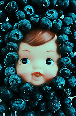 Blue Barry (boopsie.daisy) Tags: blue boy food face fruit toy doll head barry multiple lots blueberries superbmasterpiece wowiekazowie popsgallery foodpersona