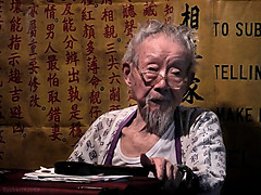 old fortune teller (jobarracuda) Tags: lumix hongkong chinese oldman  fortuneteller panasoniclumix  abigfave dmcfz50 jobarracuda