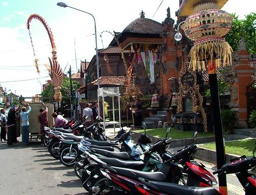 Motorcycle In Bali