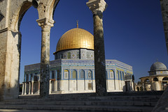 Temple Mount in Jerusalem (marantzer) Tags: travel digital israel nikon palestine muslim jerusalem wideangle domeoftherock arab d200 dslr polarizer cpl dx templemount domeofthechain afsdxzoomnikkor1224mmf4gifed marantzer