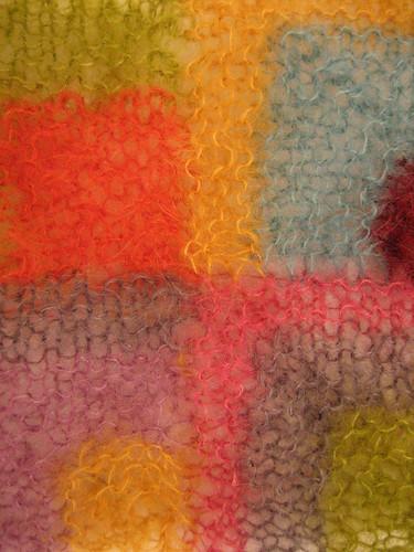 Modern quilt wrap 1234 detail