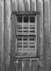 How Many Lines Do You See? (sjwndw) Tags: wood blackandwhite bw window lines matchpointwinner bobevansmill