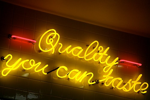 Quality You Can Taste by Jeremy Brooks, on Flickr