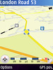 Nokia Maps application 3D view