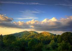 Equatorial Malverns (flash of light) Tags: landscape evening hills malvern worcestershire beacon 2007 impressedbeauty