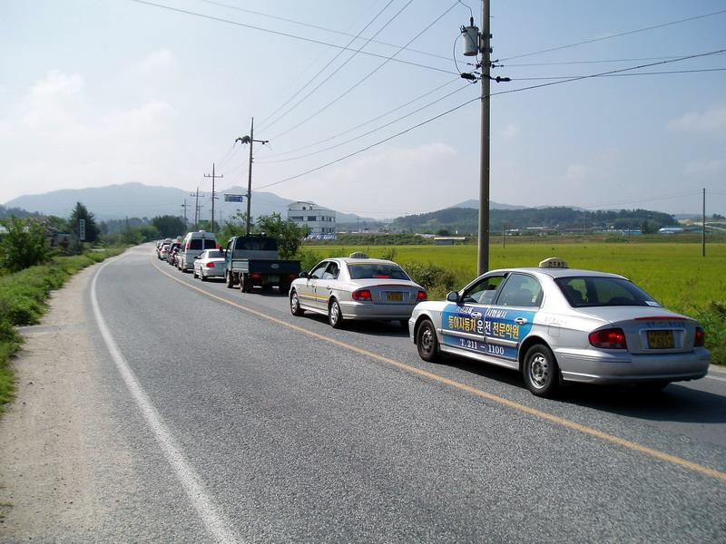 Машины на дороге