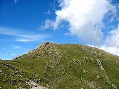 Punta Muvrareccia depuis la crête de Fornellu