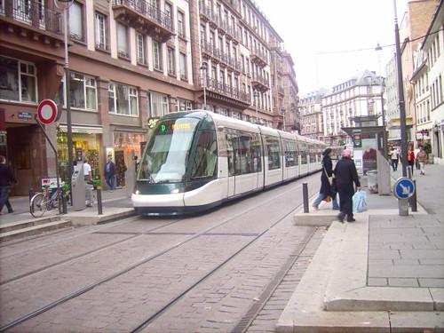 Straßenbahn in Straßburg