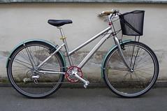 Stepthru (immu) Tags: bike bicycle aluminum deluxe dew kona polished aluminium vo mixte sugino suku stepthrough stepthru