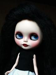Mohair Girl Blue Eyes
