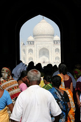 Taj Mahal (ByKyss) Tags: new delhi agra jaipur desert camel sun soleil people colors black white noir et blanc couleurs chameau motos car street childrens enfants girls boy men sari pink barbe city ville rose taj mahal