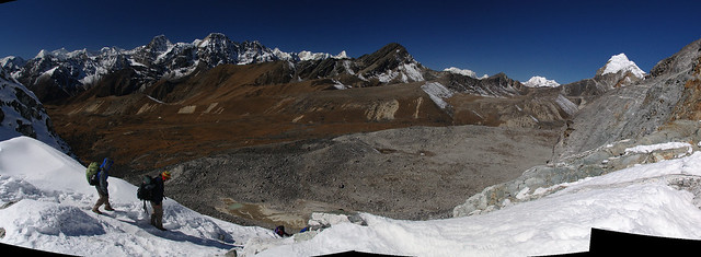West view from Cho La pass