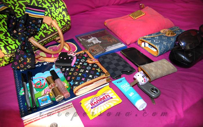 Random: What's in my bag?