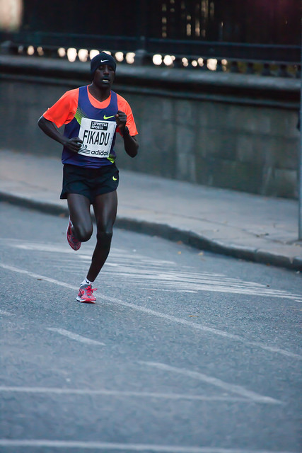 Dublin Marathon 2010 - In second place was Ethiopian Kedir Fikadu by infomatique