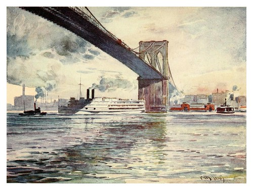 020-Puente de Brooklyn-New York- 1911-Martin Lewis