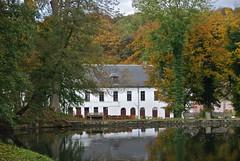 L'abbaye du Rouge-Clotre (Bruxelles) (Flikkersteph -3,000,000 views ,thank you!) Tags: park autumn lake nature reflexion domain