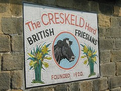 Mosaic at the bottom of Creskeld Lane (D  a  v  e) Tags: pictures camera abbey bike dave digital computer photography photo pix view image photos pics images photographs photograph cycle views bolton directions info jpg jpeg information facts burnsall jpgs jpegs picsof picturesof imageof photographof creskeld sumpner imagesof photographsof directionsto