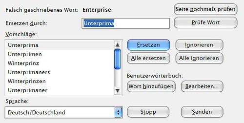 Enterprise - nur in der Unterprima?