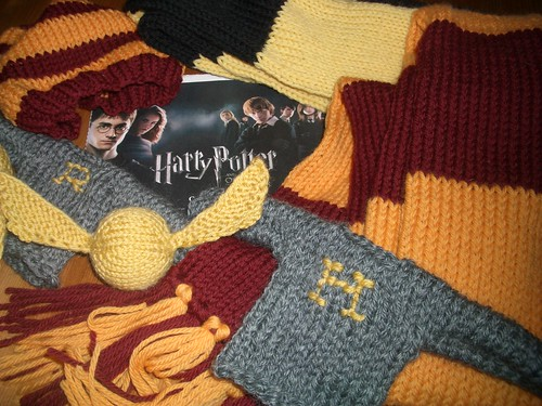 #187 - Harry Potter Knitting