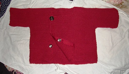 rowan garter sweater