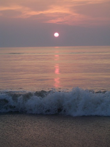 Sunrise on the last day in Nags Head