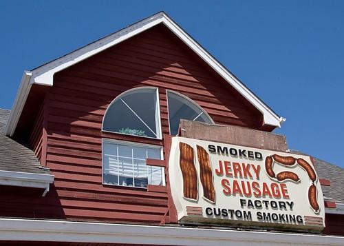 Mmm, sausage....