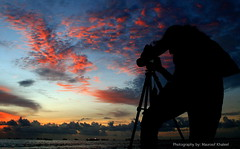 Photographer (maapu) Tags: sunset red colours photographer maldives interestingness48 canon400d maapu mauroof andhu mauroofkhaleel andhutakingpicture