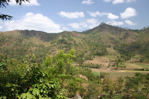 Mountains between Ponorogo and Blitar, Eastern Java.