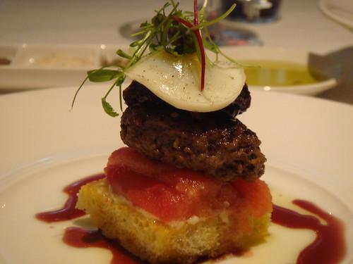 Wagyu Beef Burger @ ezard