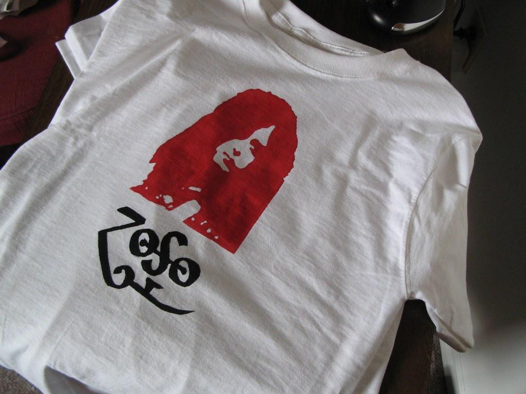 Zoso T-shirt Final