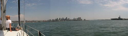Panorama of San Diego Bay