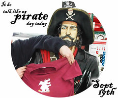 Talk like a pirate day (DragonDrop) Tags: like talk pirate ahoy avast yaar shivermetimbers doubloons piecesoeight mehearty swashbucklin thanr