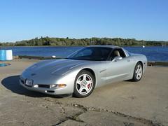 Vice President Run 2007 169 (redvette) Tags: redvette corvette rivervalleyvettes tomhiltz