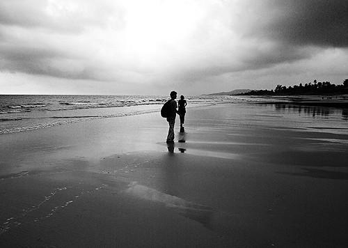 At Gokarna Beach