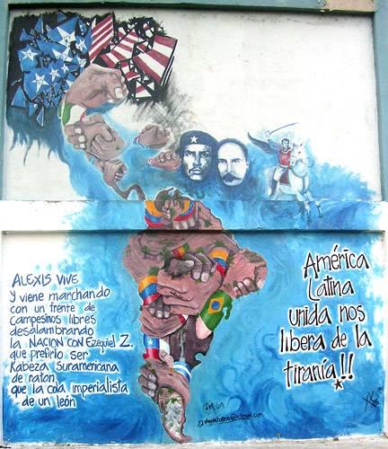 america unida, barrio 23 enero, caracas