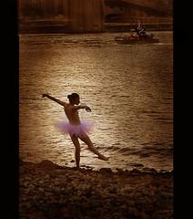 The Tugboat That Fell In Love With The Ballerina (Rick Elkins) Tags: newyorkcity newyork water river dance ballerina bravo searchthebest eastriver tugboat themoulinrouge magicdonkey mywinners abigfave artlibre the25magicdonkeysolution flickrplatinum infinestyle goldenphotographer ithinkthisisart poseidonsdance rickelkins