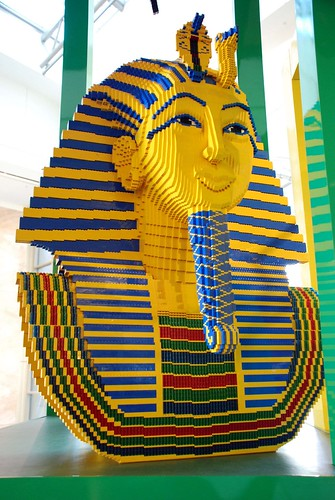 Lego Egyptian mummy