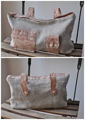 recycled shirt bag