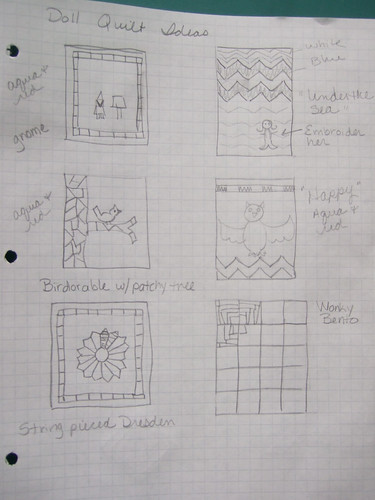 Doll Quilt ideas 01