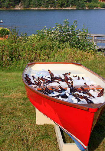 Putting a #Maine skiff to good use