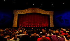 PhilharMagic Theater (PreludeVTEC01) Tags: world 3d nikon theater magic kingdom disney tokina disneyworld 24 mm 12 wdw waltdisneyworld walt 1224mm mk magickingdom fantasyland 1224 2010 philharmagic d40 tokina1224mm nikond40 philharmagictheater