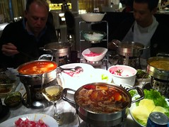Do Lar hotpot in Shanghai