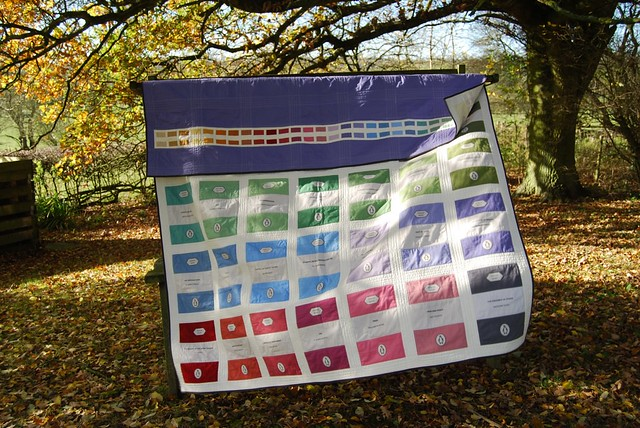 Penguin Books Quilt finished