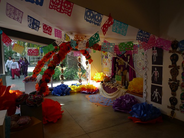 Day of the Dead art at ICA